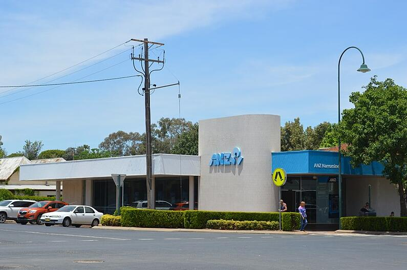 ANZ Bank branch in Narromine, New South Wales