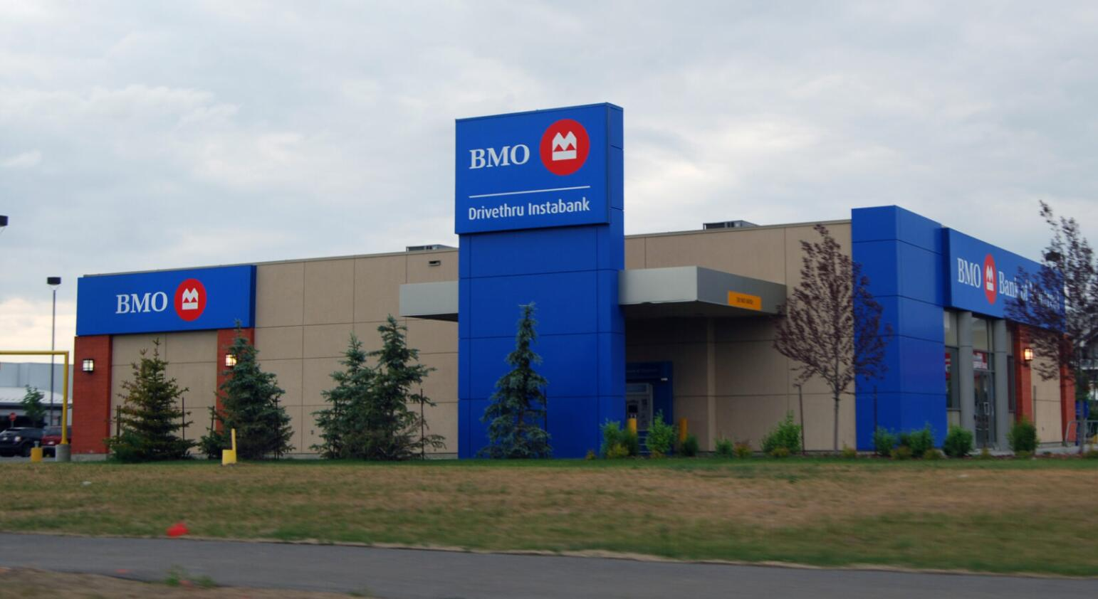 BMO Bank branch in Edmonton