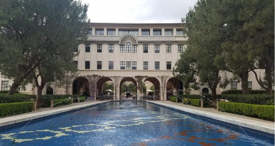 Beckman Institute, building on the Caltech campus