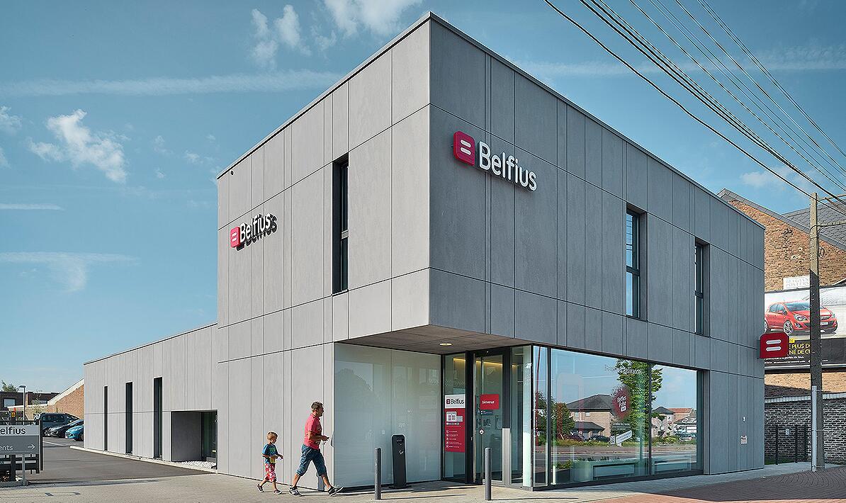 Belfius Bank branch in Soumagne