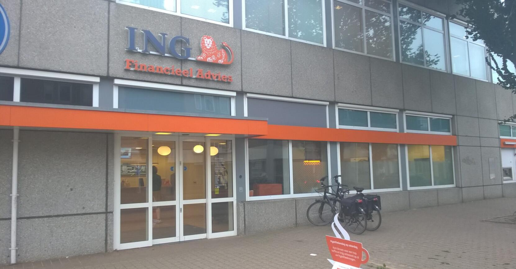 ING agency in the city of Heerenveen