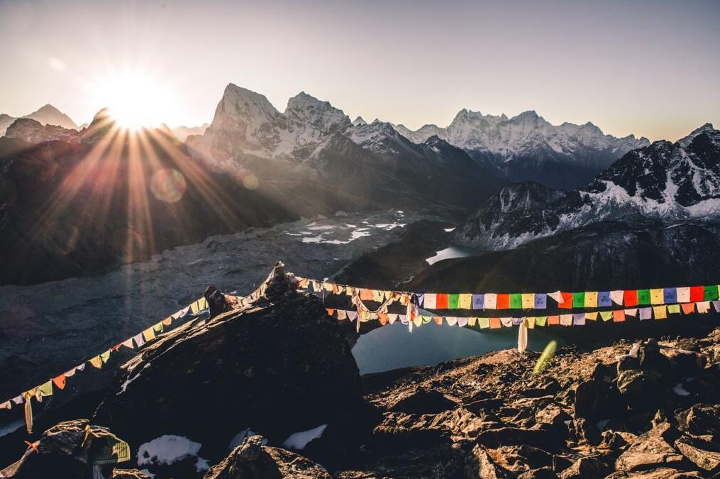 Mountain Gokyo Ri, Nepal