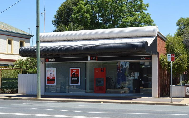 National Australian Bank branch in Finley, New South Wales