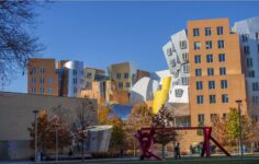 Ray and Maria Stata Center, part of MIT