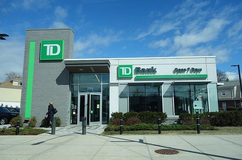 TD Bank branch in New York