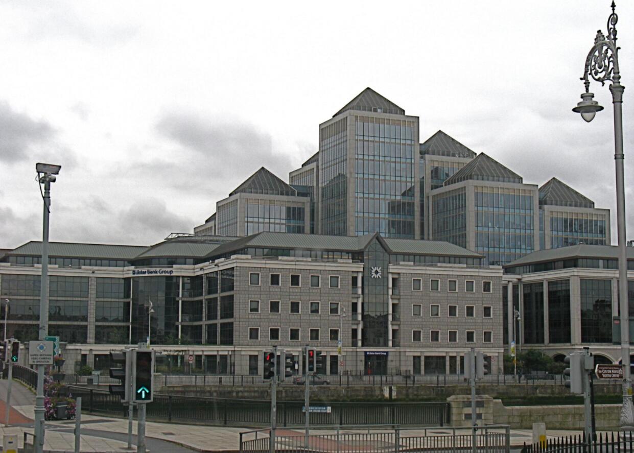 Ulster Bank headquarters in Dublin