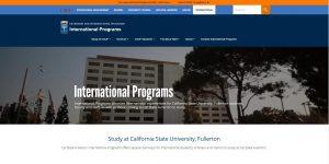 Cal State Fullerton International Programs