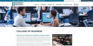 College of Business - Hawaii Pacific University