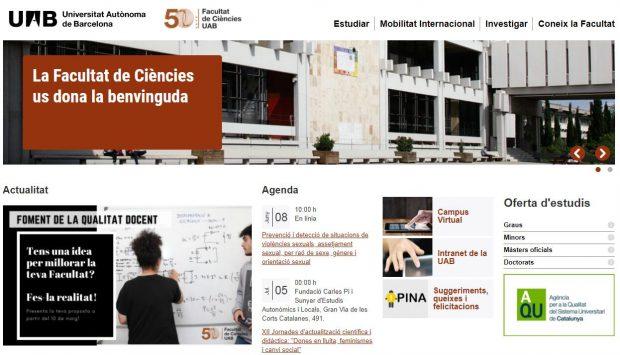Facultat de Ciències - UAB Barcelona